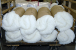 Batts of Wool, ready to go